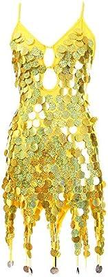 Xiao Jian- Lentejuelas de escamas de pez Disfraces de baile ...