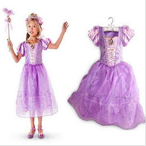 HalloweenAroundCorner.com Princess Repunzel Inspired Princess Costume Dress