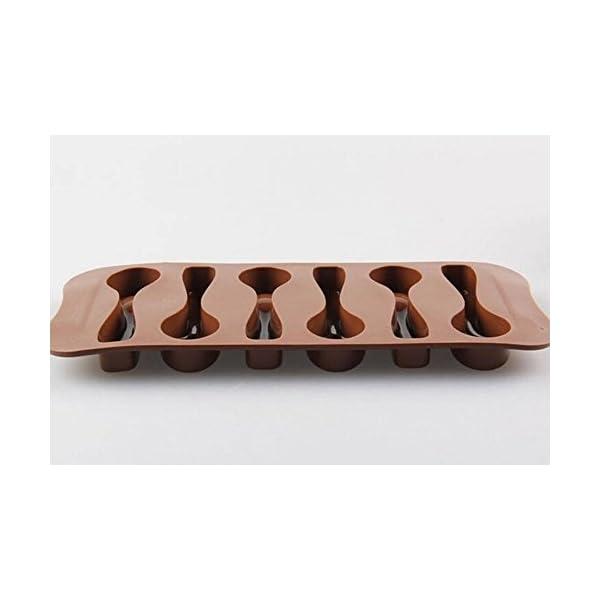 Stonges, 2 pezzi, stampo per dolci al cioccolato a forma di cucchiaio, stampo per gelato, stampo per cottura al forno 5 spesavip
