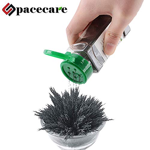 SPACECARE Magnetic Iron Powder for Magnet Education Iron Filing Jar (12 Ounces) with Shaker lid (Iron Filings)