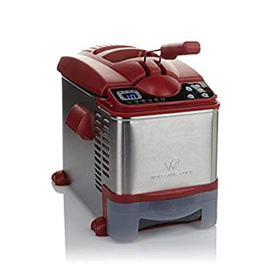 3.5 Liter Digital Flash Fryer with Automatic Oil Drain by wolfgang puck