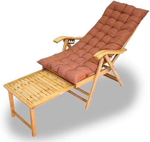 Tumbonas Jardin Plegable de madera de bambú Silla Tumbona con reposapiés ajustable en 5 posiciones extendida largo verano silla tumbona de jardín, opcional Alfombra (color, Silla), Presidente Mat +: Amazon.es: Jardín