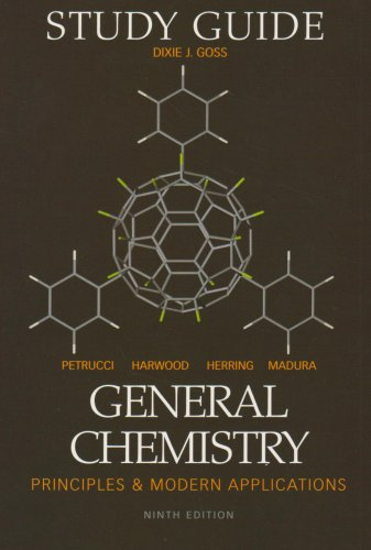 General Chemistry 9th Edition Study Guide