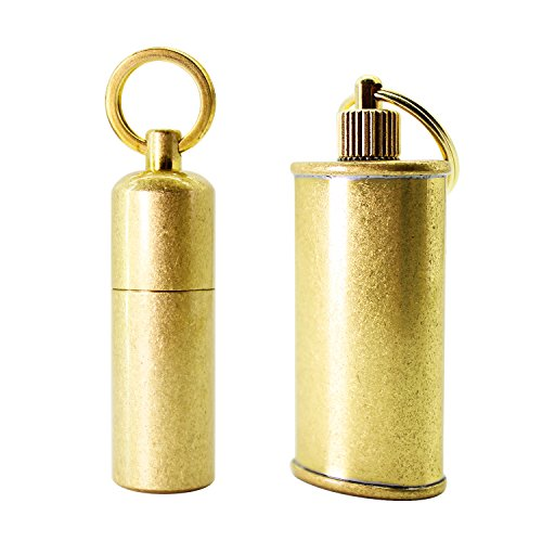 PPFISH Mini Brass Lighter - EDC Peanut Lighter Key