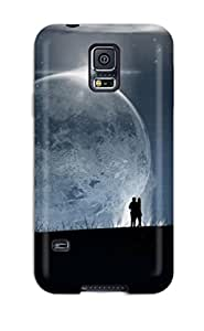 Janice K. Alvarado's Shop High Quality Couples In Love Moon Tpu Case For Galaxy S5