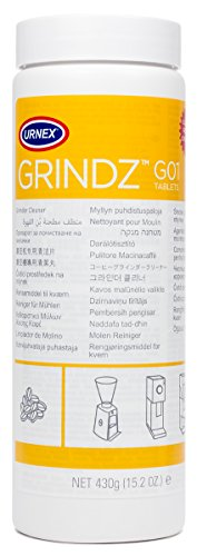 Urnex Grindz Professional Coffee Grinder Cleaning Tablets, 430 grams