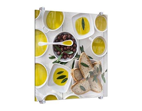 Spritzschutz Olivenöl in Schalen B x H: 70cm x 70cm (erhältlich in 2 Größen)