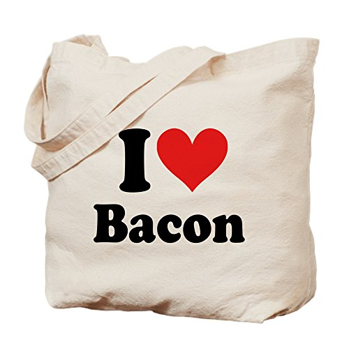 Bacon Heart Sac Pour Toile Cabas I S Cafepress Kaki RXqwPg