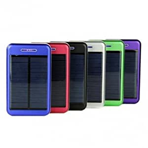 13800mAh Solar Charger Battery Power Bank For iPhone Smartphone --- Color:Black