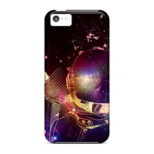 LavernaCooney Iphone 5c Bumper Cell-phone Hard Covers Customized Nice Daft Punk Pattern [fwr2724NBlB]