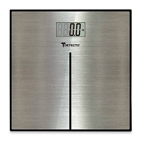 Detecto Stainless Steel Bathroom Digital Scale (Beam Scale Balance Detecto)