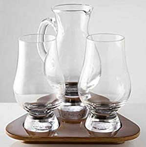 glencairn whisky glass tasting set water jug. Black Bedroom Furniture Sets. Home Design Ideas