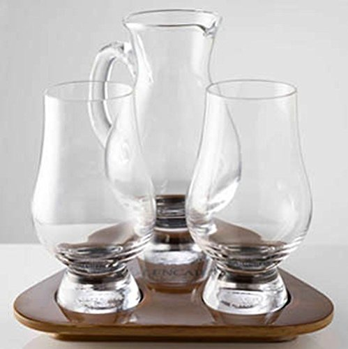 - Glencairn Whisky Glass Tasting Set, Water Jug and Tray. Made in Scotland