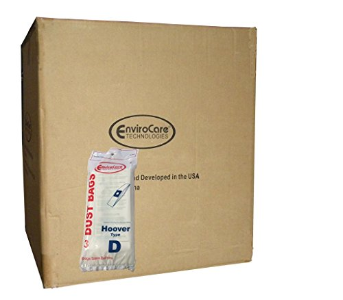 150 bags (50 pkgs) Hoover Type D Upright Vacuum Cleaner Bags Part #4010005D Dial a Matic Model 1140 (Dialamatic)
