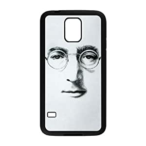Samsung Galaxy S5 Cell Phone Case Black John Lennon MOM DIY Hard Case