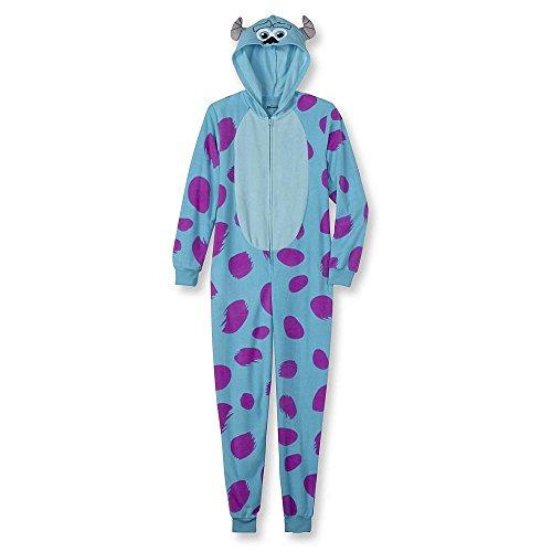 Disney Women's One Piece Pajama Set Union Suit Sleepwear (Sulley, Small) by Disney