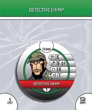 HeroClix # : Detective Chimp # Collateral b01 (共通) – Damage Collateral Damage B005N073RK, お掃除専門店KIS:b002fedc --- 2017.goldenesbrett.net