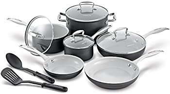 12-Pcs. GreenLife CC000801-001 Classic Cookware Set