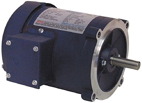 50Hz Fequency C4T14FC2 B 220//380//440V Voltage Round Mounting 1//4HP 3 Phase Leeson 102184.00 Special Voltage Motor 1500 RPM S56C Frame
