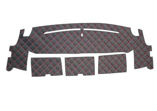 BMS(ビーエムエス) ダッシュボードマット DIKレザー黒 S-SQUARE#50 ピンクステッチ LDM-H16-BK-MSPI 【ホンダ ステップワゴン  H17/05 ~ H21/10  RG1~4】 B009I9BHME ピンクステッチ ピンクステッチ