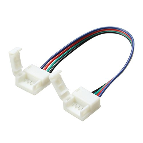 10mm Width 4 Pin Solderless Connectors Extension Cable for sale  Delivered anywhere in Canada