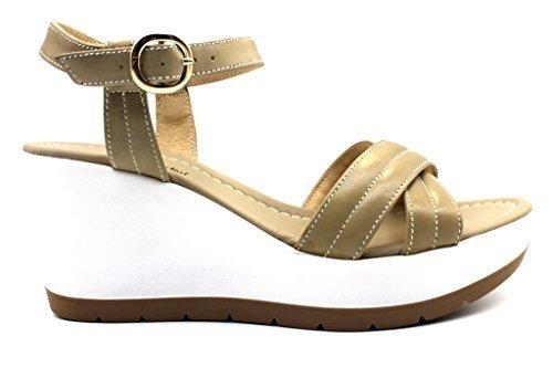 NeroGiardin P805711D Sand Schuhe Sandalen Wedges Frau  Sand Sand Sand 0fbbb8