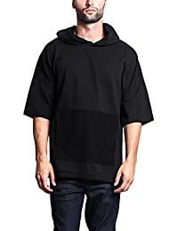 "<span class=""a-offscreen"">[Sponsored]</span>G-Style USA Men's Oversized Solid Color Subdued Hues Baggy Boxy T-Shirt & Hoodie"