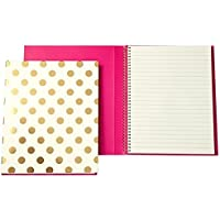 kate spade new york Spiral Notebook - Gold Dots