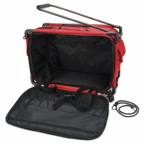 TUTTO Machine On Wheels Case 23''X15''X12''-Red by Tutto