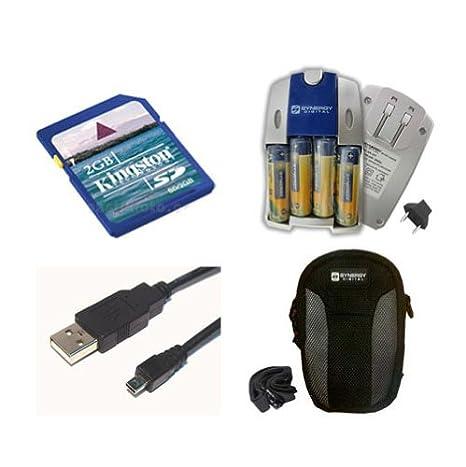 f70dc3a83 Amazon.com  Fujifilm Finepix AV150 Digital Camera Accessory Kit includes   SB257 Charger