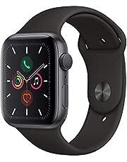 Apple Watch Serie 5 44mm GPS/Caixa de Alumínio Cinza Espacial com Pulseira Esportiva Preto