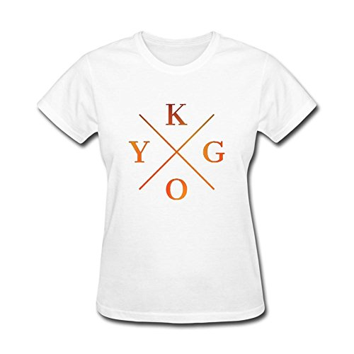SAMMA Women's Kygo Design Cotton T Shirt