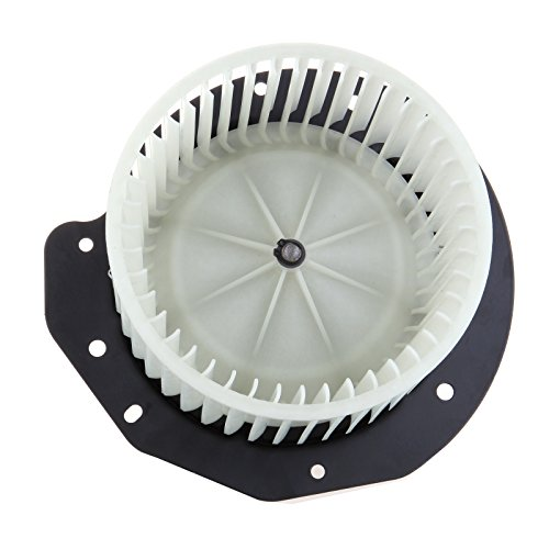 HVAC plastic Heater Blower Motor w/Fan ABS Cage ECCPP fit for 1987-1996 Ford Bronco /1988-1997 Ford F Super Duty /1987-1996 Ford F-150/1987-1996 Ford F-250/1987-1996 Ford F-350