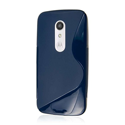 Moto G (2nd Gen) / Moto G EXT Case, MPERO FLEX S Series Protective Case for Motorola Moto G (2nd Gen 2014) / Moto G EXT - Blue
