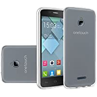 HR Wireless Cell Phone Case for Alcatel Dawn Acquire - Clear
