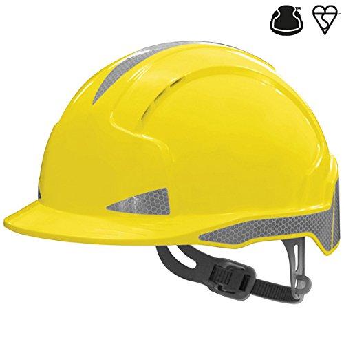 color amarillo JSP AJB160-400-200 EVOLITE CR2 Casco de trinquete con ventilaci/ón