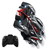 zero gravity remote control car - SGILE Remote Control Car Toy, Cool Rechargeable RC Wall Climber Car with Mini Control Dual Mode 360° Rotating Stunt Car LED Head Gravity-Defying[Copy Right Reserved]