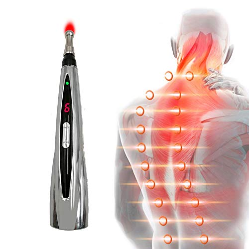 Acupuncture Pen Electric Acupuncture Meridian Energy Pen Needleless Acupuncture Tools for Pain Relief and Healthcare