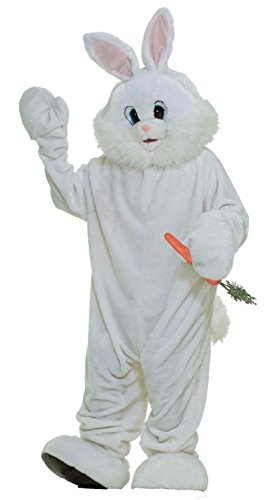 Forum Deluxe Plush Bunny Rabbit Mascot Costume, X-Large (Rabbit Costumes For Adults)
