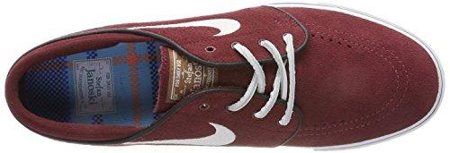 Nike Herren Zoom Stefan Janoski OG Skateboardschuhe Rot (Red Earthwhiteblackgum Med Brown)