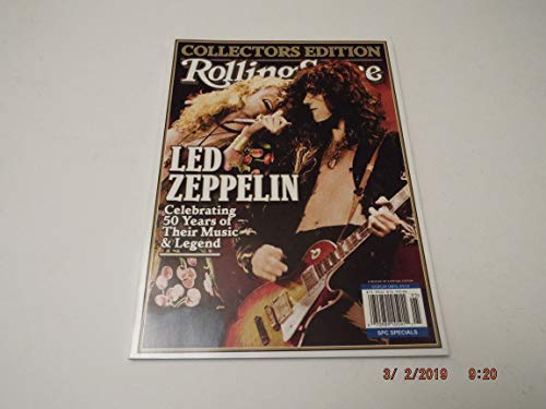 Rolling Stone Collectors Edition 2019, Led Zeppelin Reissue 2019 (White mark is NOT on Magazine)