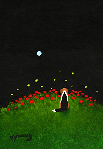 Beagle Harrier Foxhound Dog Art print by Todd Young FIREFLIES & -