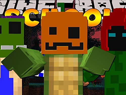 Clip: Minecraft School - the Class Make Halloween