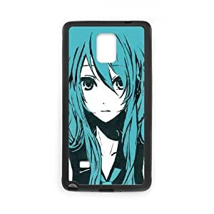 Vocaloid Samsung Galaxy Note 4 Cell Phone Case Black Custom Made pp7gy_3360024