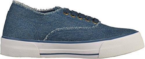 Marco Tozzi 2-23624-38 Damen Sneakers Blau(Jeans)