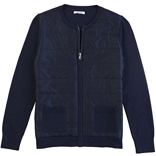 Quilted Zip Front Jacket - 8