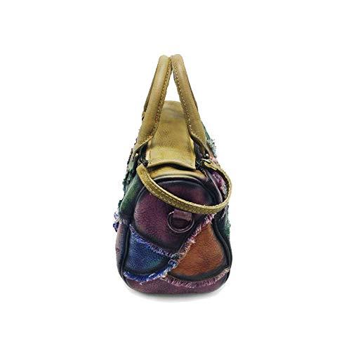 Size Eeayyygch Vintage Messenger Black Women's Bag One Black And Style Handbag Portable Color European Fashion size American pOpwAqrB