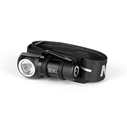 NEBO REBEL 6691, 600 Lumen Rechargeable Task and Head Light by NEBO