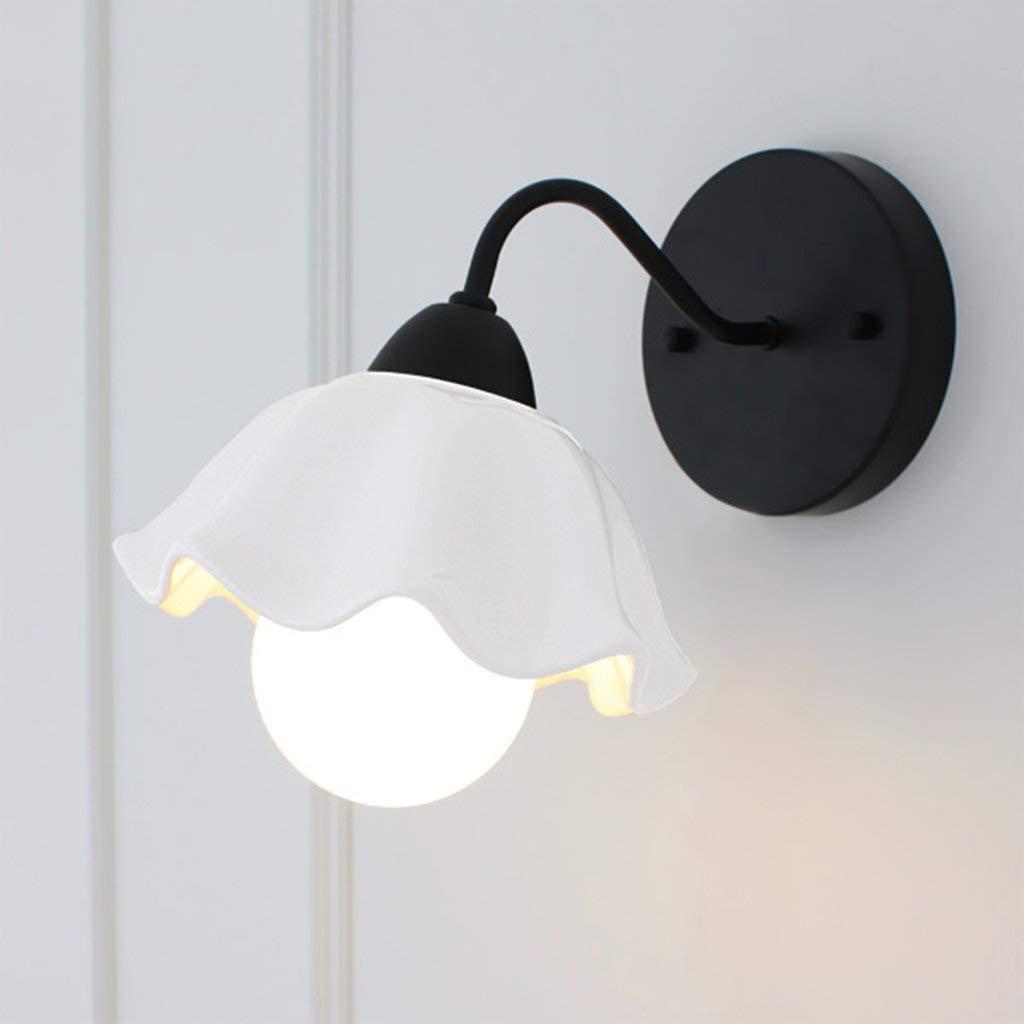 schwarz Pastorale modernes Schlafzimmer Wohnzimmer Nachttischlampe Wandleuchte Gang Lampe Keramik Neue (Farbe  Schwarz)