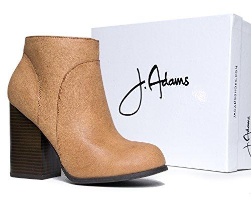 J. Adams Classic Chunky Heel Bootie FuNsX0
